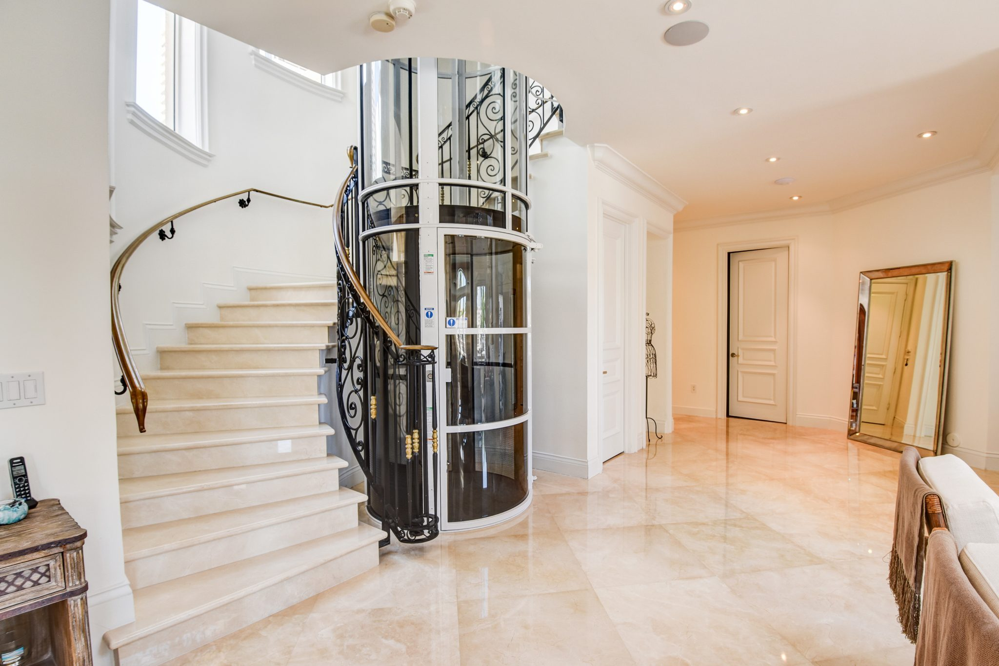Pneumatic vacuum elevator luxury lift by xpress lifts for 1 story elevator