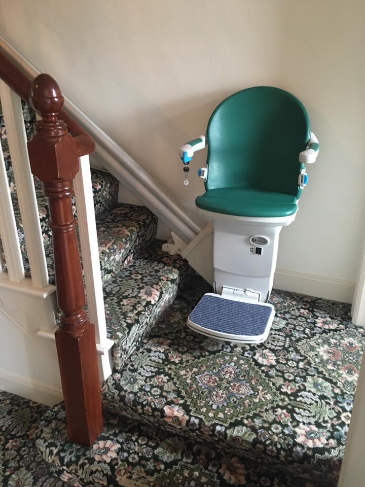 refurblished chair lift