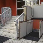 Opal Vertical platform wheelchair lift
