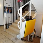 Artira Curved Platform Wheelchair Lift